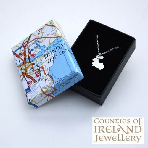 County Louth Map Pendant